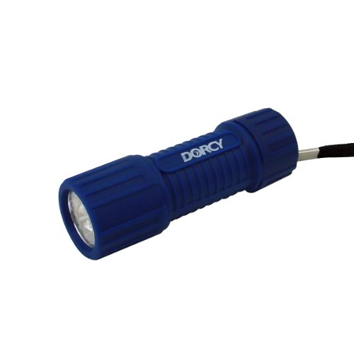 Dorcy-41-4241-Weather-Resistant-LED-Flashlight-with-Lanyard-19-Lumens-4-Pack-Assorted-Colors-0-0