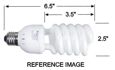 Full-Spectrum-Light-Bulb-ALZO-27W-Compact-Fluorescent-CFL-Pack-of-4-5500K-Daylight-120V-Joyous-Light-Pure-White-Light-0-0