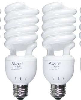 Full-Spectrum-Light-Bulb-ALZO-27W-Compact-Fluorescent-CFL-Pack-of-4-5500K-Daylight-120V-Joyous-Light-Pure-White-Light-0