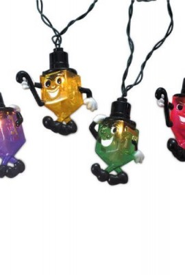 Rite-Lite-Chanukah-Electric-Draydelettes-Light-Set-0