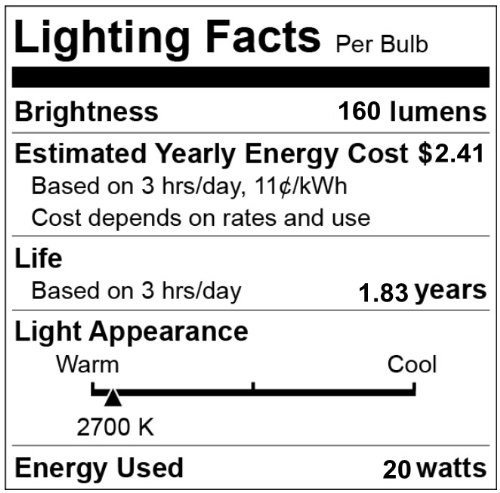 CBConcept-Brand-Halogen-Light-Bulb-120Volt-20Watt-JCD-G8-Base-10-Bulbs-Length35mm-0-2