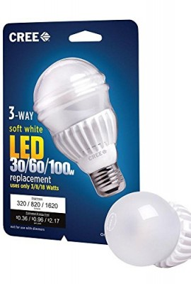 Cree-3-Way-LED-Light-Bulb-3818-watt-3060100-watt-Soft-White-2700k-3208201620-Lumens-Omnidirectional-0
