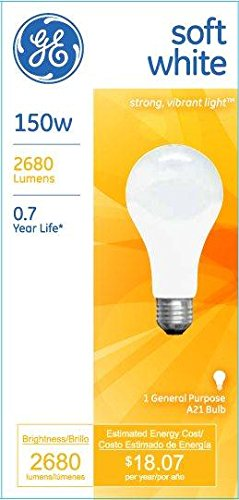 GE-Soft-White-10429-150-Watt-2680-Lumen-A21-Light-Bulb-with-Medium-Base-1-Pack-0-0
