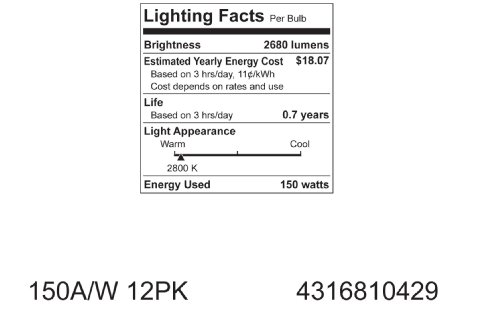 GE-Soft-White-10429-150-Watt-2680-Lumen-A21-Light-Bulb-with-Medium-Base-1-Pack-0-2
