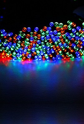 GRDE-22m-72ft-200-LED-Solar-Powered-String-Light-Holiday-Fairy-Lights-for-Outdoor-Gardens-Patio-Lawn-Porch-Gate-Yard-Homes-Christmas-Parties-Weddings-Xmas-Easter-Festivals-Mutli-color-200LED-0