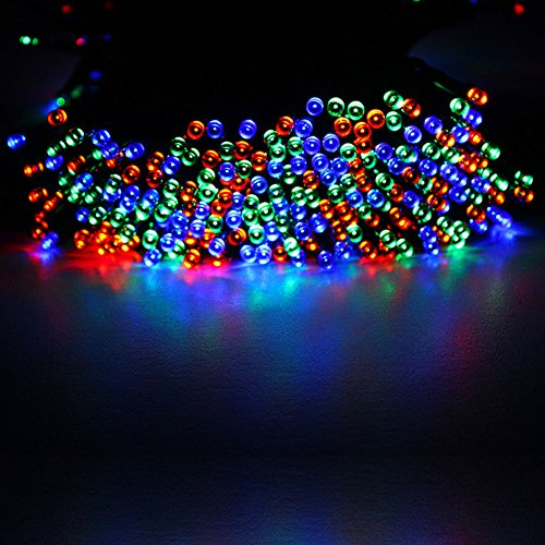 Solar Powered String Lights Patio Upgradedmulti color 65ft long 200 led outdoor string lights solar grde 22m 72ft 200 led solar powered string workwithnaturefo
