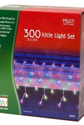 Holiday-Wonderland-14084W-88-Multi-Color-300-Count-Icicle-Set-Christmas-Lights-Icicles-Path-Cicles-0