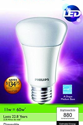 Philips-429258-11-watt-A19-LED-Household-Dimmable-Light-Bulb-Soft-White-0