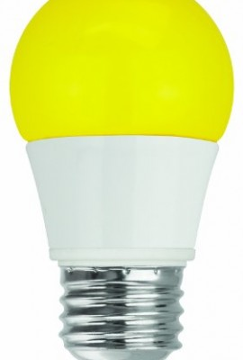 TCP-RLAS155WY-LED-A15-40-Watt-Equivalent-5W-YELLOW-Colored-Light-Bulb-Bug-Light-0