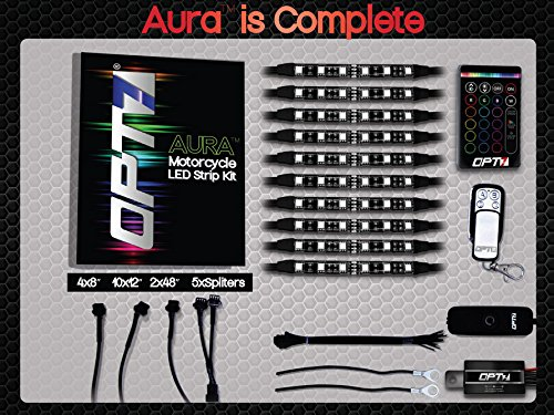 10pc-Aura-Golf-Cart-Underbody-Glow-LED-Lighting-Kit-Multi-Color-Accent-Neon-Strips-wSwitch-0-2