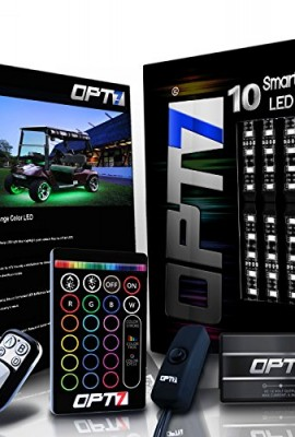 10pc-Aura-Golf-Cart-Underbody-Glow-LED-Lighting-Kit-Multi-Color-Accent-Neon-Strips-wSwitch-0