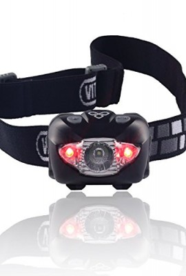 Brightest-Best-Headlamp-Flashlight-with-Red-LED-Light-for-Running-Camping-Reading-Fishing-Hunting-Walking-Jogging-Headlamps-Waterproof-Long-Battery-Life-Batteries-Included-Adjustable-Beam-Durable-Ligh-0