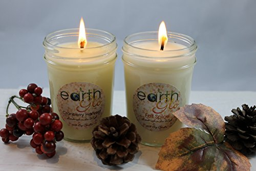 EarthGlo-100-Soy-Candle-Set-Two-8oz-Jar-Candles-In-Gift-Box-0-0