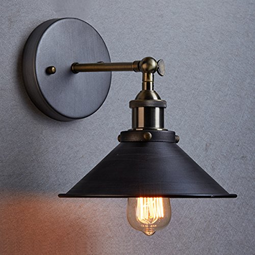 Ecopower-Industrial-Edison-Simplicity-1-Light-Wall-Mount-Light-Sconces-Aged-Steel-Finished-0