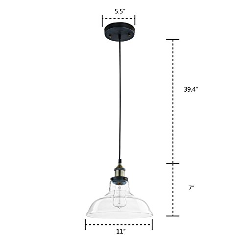 Ecopower-Industrial-Edison-Vintage-Style-1-Light-Pendant-Glass-Hanging-Light-0-1