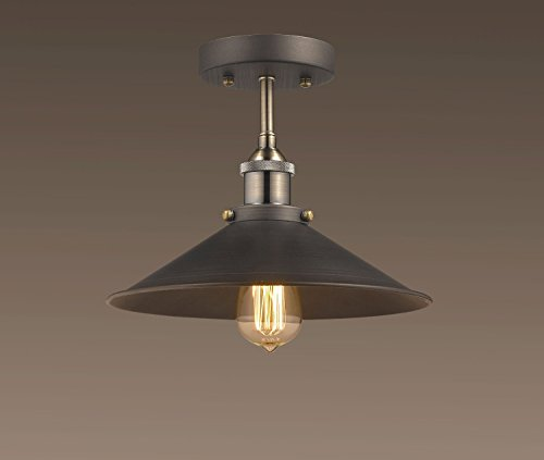 Claxy ecopower industrial mini edison ceiling light 1 Eco light fixtures