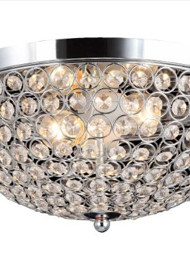 Elegant-Designs-FM1000-CHR-Ellipse-Crystal-2-Light-Ceiling-Flush-Mount-Chrome-0