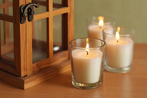 Hosleys-Set-of-12-Unscented-Glass-Votive-Candles-0-1
