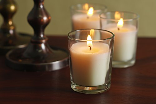 Hosleys-Set-of-12-Unscented-Glass-Votive-Candles-0-2