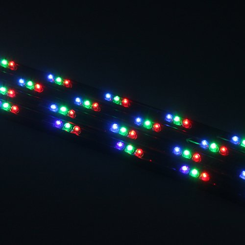 Image 7 Color 4pcs Led Under Auto Car Underglow System Neon Lights Kit Strip With Wireless