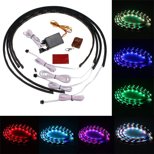 IMAGE-7-Color-4pcs-LED-Under-Auto-Car-Underglow-System-Neon-Lights-Kit-Strip-With-Wireless-Remote-Control-2-x-24-2-x-36-0
