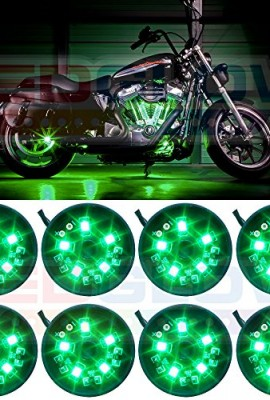 LEDGlow-8pc-Green-LED-Pod-Lighting-Kit-0