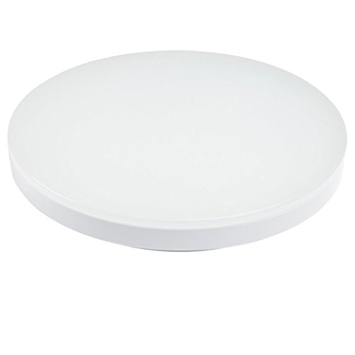 Smart-Green-Lighting-LED-Flush-Mount-Ceiling-Light-for-Living-Room-Bathroom-Bedroom-and-Dining-Room-4000k-Color-Temperature-Natrual-White-12w-Power-Lumious-Flux-9501100lm-CRI80-1pcsExactly-World-First-0-1