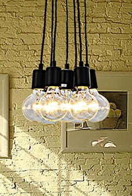 UNITARY-BRAND-Vintage-Barn-Hanging-Ceiling-Pendant-Light-Max-280w-with-7-Lights-Painted-Finish-0