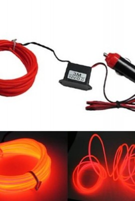 iJDMTOY-Flexible-EL-Neon-Glow-Lighting-Strip-With-Charger-For-Car-Interiror-Deco-Red-Color-0
